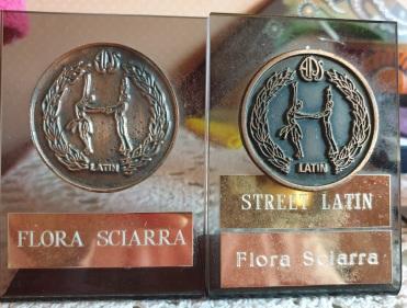 My bronze medals